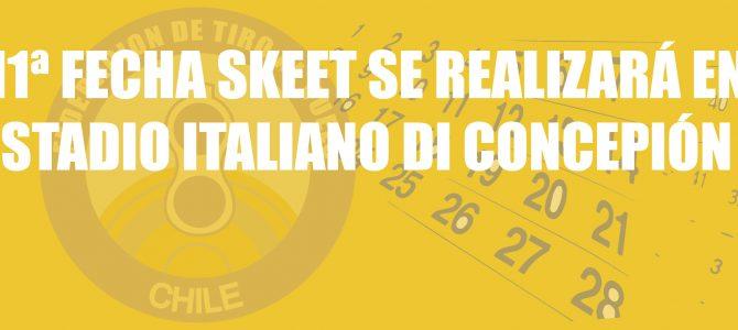 11ª FECHA SKEET SE REALIZARÁ EN STADIO ITALIANO DI CONCEPIÓN