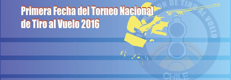 Primera Fecha del Torneo Nacional de Tiro al Vuelo 2016