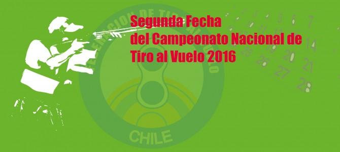 Segunda Fecha del Campeonato Nacional de Tiro al Vuelo 2016
