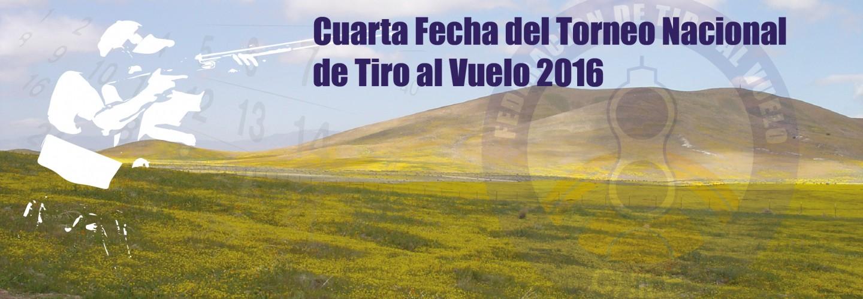 Cuarta Fecha del Torneo Nacional de Tiro al Vuelo 2016