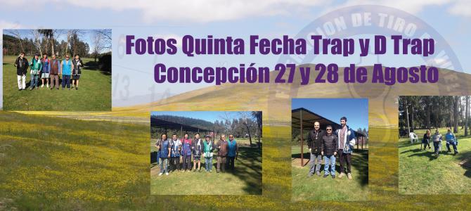 Quinta Fecha Trap y D Trap Torneo Nacional  / Concepción