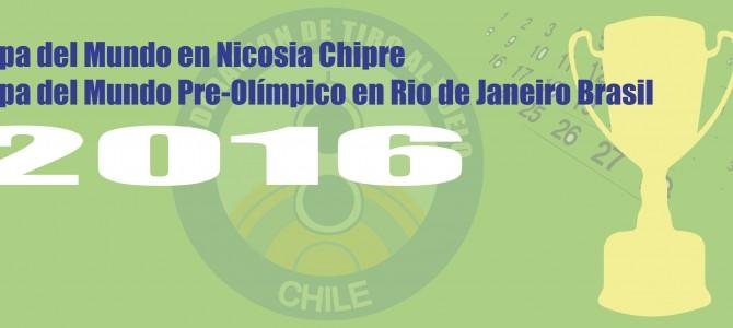 Selectivo Copa Chipre y Brasil 2016