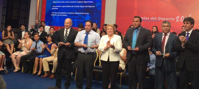 PREMIOS DEL DEPORTE 2016, PRESIDENCIA DE LA REPUBLICA DE CHILE
